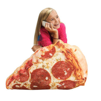 Cowrind Studios, Inc. Wow Works 652124 Pizza Inflatable Chair Digitally Printed