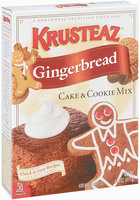 Krusteaz Gingerbread Cake & Cookie Mix 14.5 Oz Box