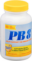 PB 8™ Dietary Supplement Capsules 60 ct Bottle