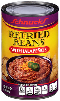 Schnucks® Refried Beans with Jalapenos 16 oz. Can