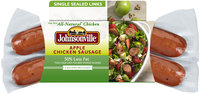 Johnsonville Smoked Apple Chicken Sausage 12oz sleeve (101917)
