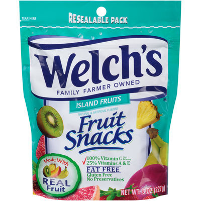 Welch's® Island Fruits Fruit Snacks