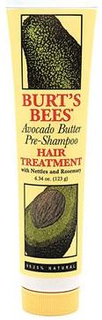 Burt's Bees Avocado Butter Pre-shampoo Hair Treatment