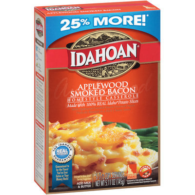 Idahoan® Applewood Smoked Bacon Home Style Casserole  5.11 oz. Box