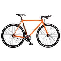 Big Shot Bikes Havana Single Speed Fixed Gear Road Bike Size: 60cm