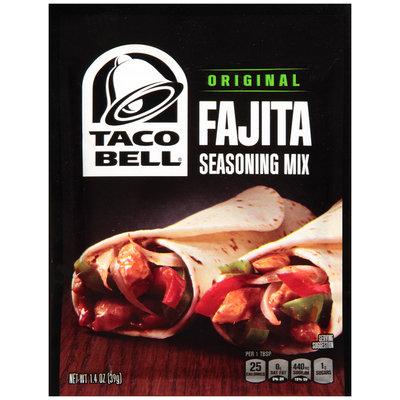 Taco Bell® Original Fajita Seasoning Mix 1.4 oz. Packet