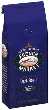 French Market® Bolder Dark Roast Ground Coffee 12 oz. Stand-Up Bag