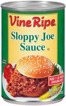 Vine Ripe® Sloppy Joe Sauce 15 oz. Can