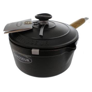 Chasseur 2.5-qt. Saucepan with Lid Color: Black