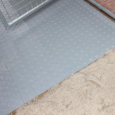 K9 Kennel Basic Yard Kennel Tile Flooring System Size: 0.5