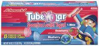 Schnucks Tubeyolar Spoon Free Lowfat Strawberry & Blueberry 2.25 Oz Yogurt 8 Ct Box