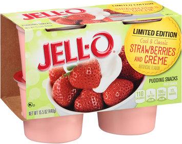 JELL-O Strawberries and Creme Pudding Snacks