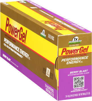 PowerBar PowerGel Performance Energy Berry Blast