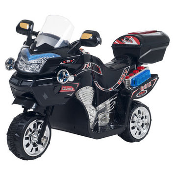 Trademark Global Games Lil Rider 3-wheel Black FX Battery Operated Motorcycle