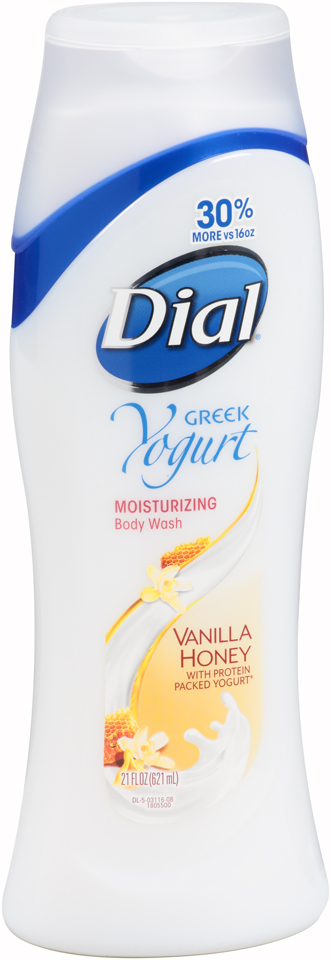 Dial® Greek Yogurt Vanilla Honey Body Wash