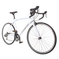 Vilano Shadow Road Bike - Shimano STI Integrated Shifters 54cm White