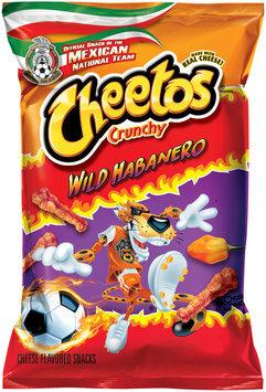 Cheetos® Crunchy Wild Habanero Cheese Flavored Snacks 3.5 oz. Bag