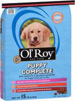 Ol' Roy® Puppy Complete Dog Food 15 lb. Bag