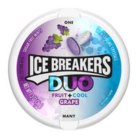 ICE BREAKERS DUO MINTS GRAPE