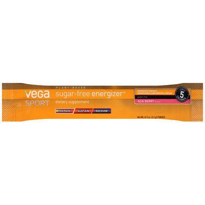 Vega™ Sport Sugar-Free Energizer Acai Berry Powder Dietary Supplement 0.11 oz. Pack