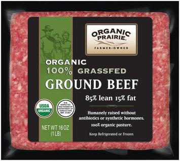 Organic Prairie® 100% Grassfed Ground Beef 85/15 16 oz.