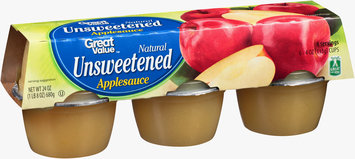 Great Value™ Natural Unsweetened Applesauce