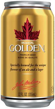 Molson Golden  Beer 12 Oz Can