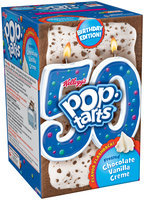 Kellogg's® Pop-Tarts® Frosted Chocolate Vanilla Creme Toaster Pastries 8 ct Box