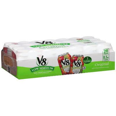V8® Low Sodium Original 100% Vegetable Juice 28-11.5 oz. Cans