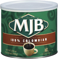 MJB 100% Colombian  Coffee 27.8 Oz Canister