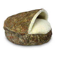 Snoozer Cozy Cave Luxury Hooded Dog Bed Color: Gramercy Spring, Size: X-Large - 45