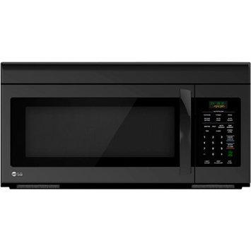 LG - 16 Cu Ft Over-the-Range Microwave - Smooth Black