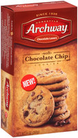 Archway® Chocolate Lovers Soft Chocolate Chip Cookies 9 oz. Box