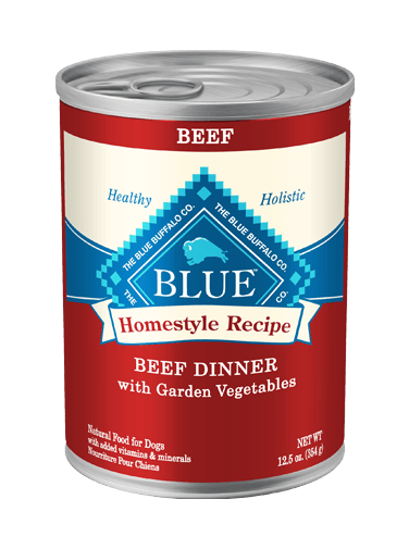 THE BLUE BUFFALO CO. BLUE™ Homestyle Recipe® Beef Dinner with Garden Vegetables For Adult Dogs