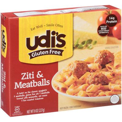 Udi's® Gluten Free Ziti & Meatballs 8 oz. Box