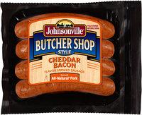 Johnsonville Butcher Shop Style Smoked Cheddar Bacon Sausage 14oz pkg    (101873)