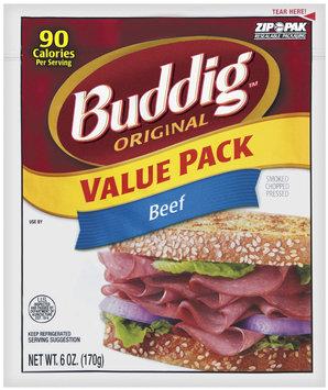 Buddig Deli Cuts Original Beef 6 Oz Peg