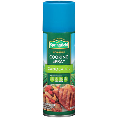 Springfield® Non-Stick Canola Oil Cooking Spray 6 oz. Aerosol Can