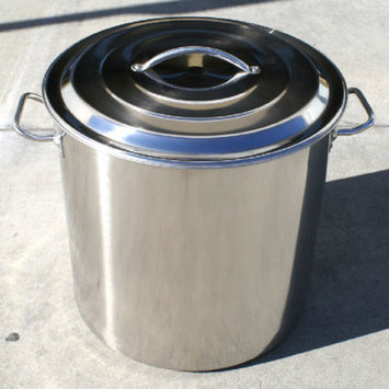 Concord Brew Kettle Stock Pot with Lid Size: 50-qt.