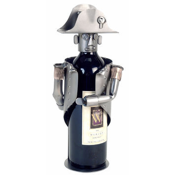 H & K Sculptures Napoleon Wine Bottle Holder
