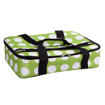 Home Essentials And Beyond Rectangular Casserole Cover Color: Green