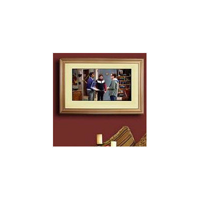 Lcd Fashion Universal TV Frame Size: Small, Finish: Gold