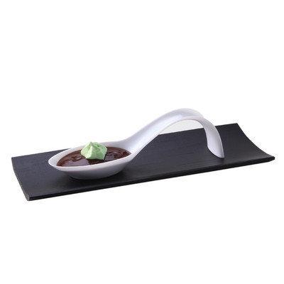Restaurantware Stiletto Appetizer Spoon (100 Count) Color: White