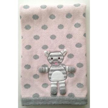 The Little Acorn Kitty 3D Stroller Blanket