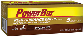 PowerBar Performance Chocolate Energy Bar 5 Ct Carton
