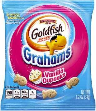 Pepperidge Farm® Goldfish® Grahams Vanilla Cupcake Baked Graham Snacks  1.2 oz. Pack