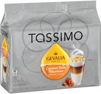 Tassimo Gevalia Caramel Latte Macchiato Coffee & Milk Creamer T Discs 8 ct Bag