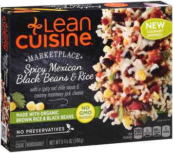 LEAN CUISINE MARKETPLACE Spicy Mexican Black Beans and Rice 8 oz Box