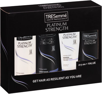 TRESemmé Platinum Strength Hair Treatment Set 4 Piece Box