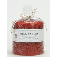 Mill Valley Candleworks Pumpkin Spice Scented Pillar Candle Size: 4